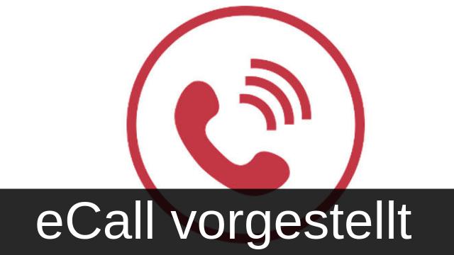eCall System vorgestellt